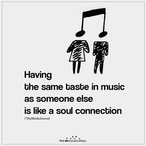 Having The Same Taste in Music