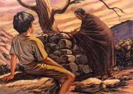 La Prueba De La Fe De Abraham Ofreciendo A Isaac En Holocausto