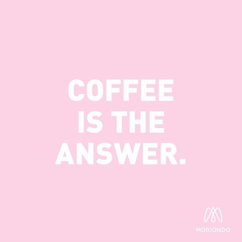 What was the question again? ☕