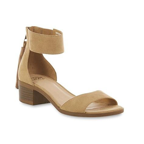 7b6a8b2da6 SM New York Women's Jeni Beige Sandal | Stuff Worth Wearing | Pinterest