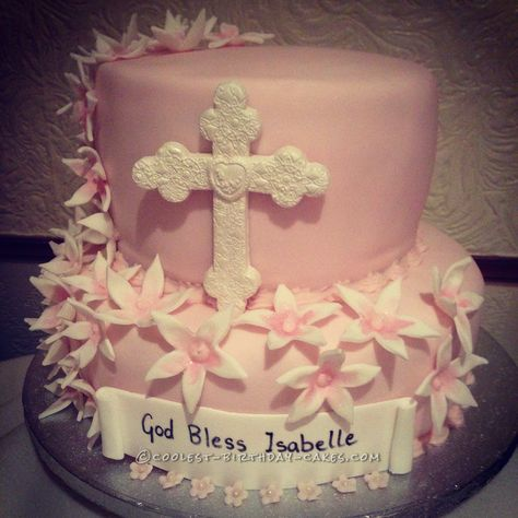 Cool Baptism Cake... Coolest Birthday Cake Ideas
