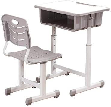Qaheart Children Desk Kids Desk And Chair Set Height Adjustable Children Study Table School Students In 2020 Desk And Chair Set Adjustable Height Desk Adjustable Desk