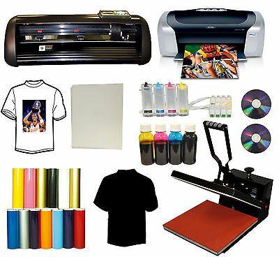 Details About 15x15 Heat Press Printer Ciss Ink 14 Vinyl Cutter Plotter Cartridge Startup Pk Decal Printer Vinyl Signs Vinyl Cutter