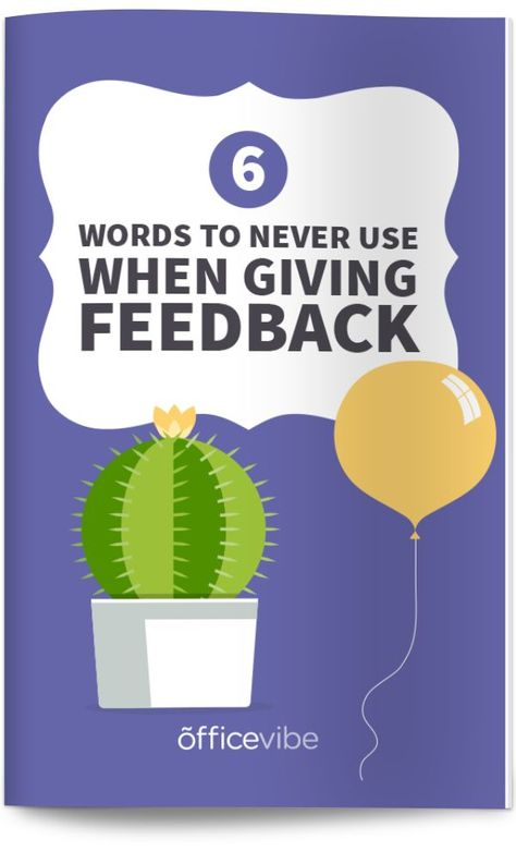 How great managers give negative feedback | Officevibe