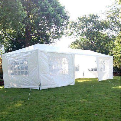 10 X 30 Party Tent 7 Walls Wintertentparty Backyard Tent Outdoor Tent Party Outdoor Wedding Gazebo