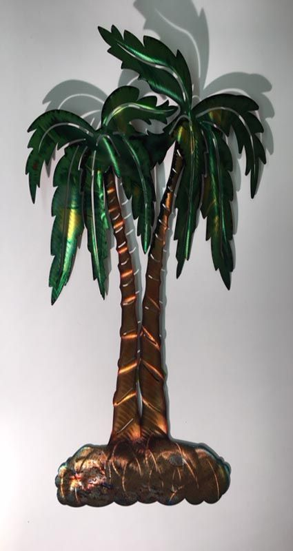 Large Palm Trees Metal Wall Art Palm Tree Metal Wall Art Metal Wall Art Vintage Palm Tree Palm tree metal wall art