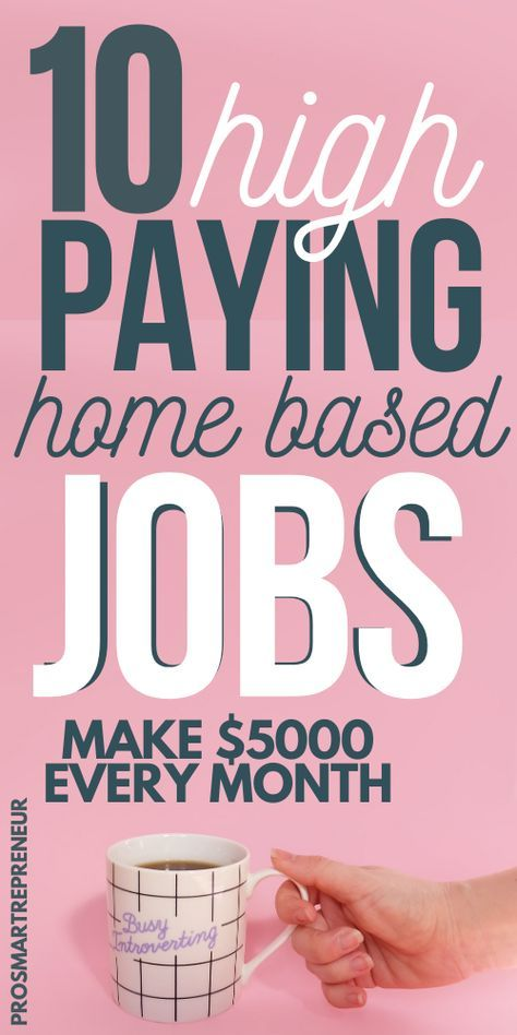 10 Best Work from Home Jobs for 2020 That Makes $5000 Monthly