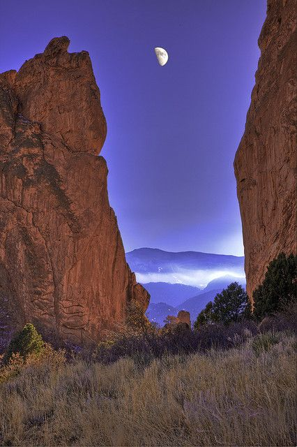 Garden of the Gods National Natural Landmark, Colorado Springs, Colorado, USA