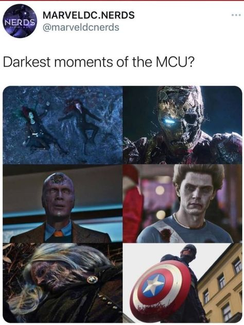 Darkest moments of the MCU ?
