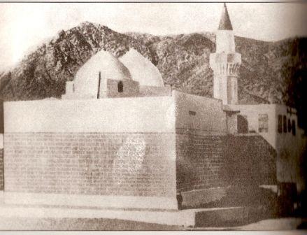 مقبرة حمزة بن عبد المطلب والتي دمرت من قبل ال السعود 1925م History Art Painting