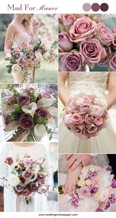 100 Hottest Mauve Wedding Decorations for Your Upcoming Day - Wedding Invites Paper