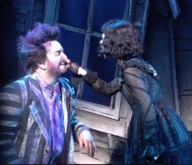 Beetlejuice Broadway Musical Aesthetic Cute Pure Bootleg Lydia Deetz Sophia Ann Caruso Alex Brightman Love Theat Beetlejuice Cast Beetlejuice Lydia Beetlejuice