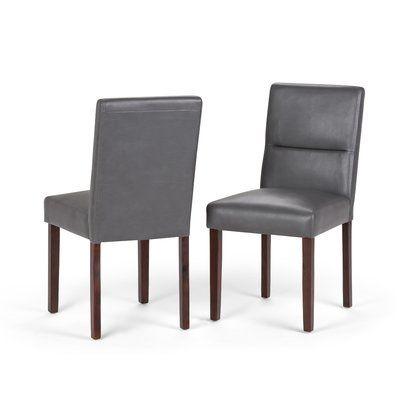 Brayden Studio Oaklynn Upholstered Dining Chair Dining Chairs Upholstered Dining Chairs Dining Chair Set