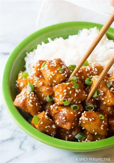 Best 5 Asian Chicken Recipes General Tso 2020 In 2020 Sesame Chicken Recipe Easy Chicken Recipes Chinese Sesame Chicken