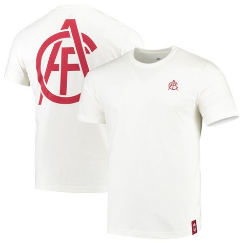 Arsenal adidas STR T-Shirt- White #Arsenal