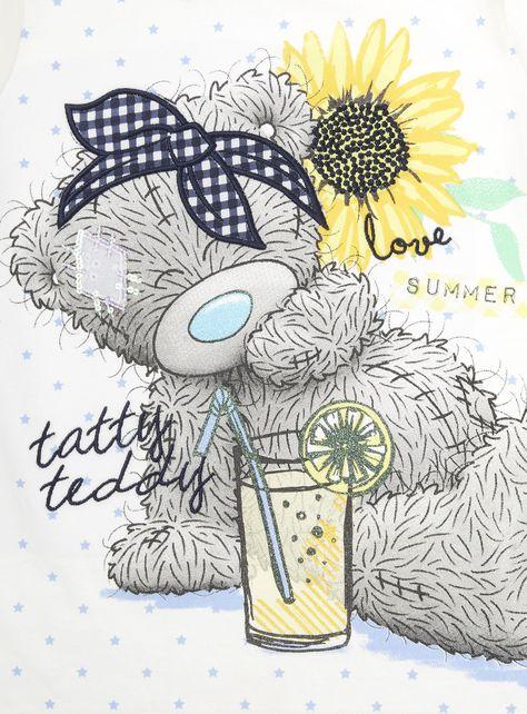 Girls White Tatty Teddy Lemonade Tee (3-12 years) | Tops & Sets | Girls | Tu Clothing