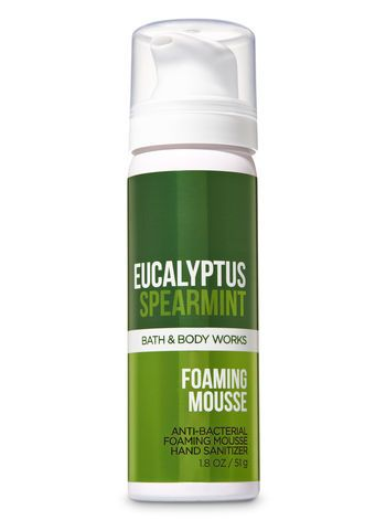 Eucalyptus Spearmint Foaming Hand Sanitizer Bath And Body Works