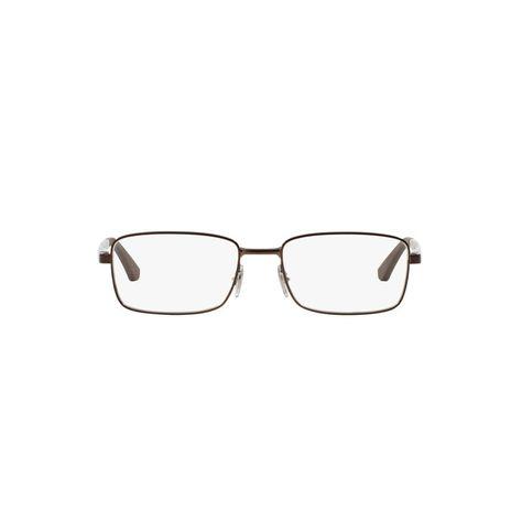 Armacao De Oculos Ray Ban Rb6333 Marrom Em 2020 Armacoes De