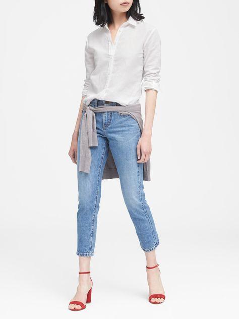 dd3f4d47ef Dillon Classic-Fit Linen-Cotton Shirt