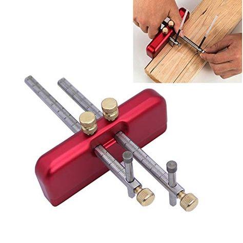 """26018 8/"""" Beech Wood Hand Marking Gauge Woodworking Tools"""