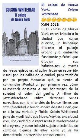 El Coloso De Nueva York Colson Whitehead Xan 208 Paisaje Urbano Coloso Nueva York