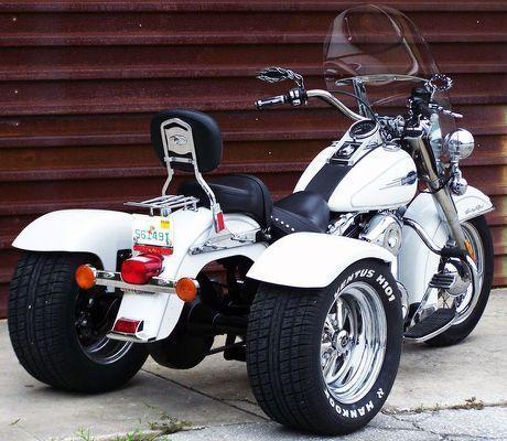 Best 25 Trike Motorcycles Ideas Harleydavidsonsoftailfatboy In