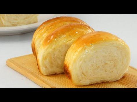 Soft And Fluffy Condensed Milk Bread - YouTube My Recipes, Bread Recipes, Cooking Recipes, Soft Bread Recipe, Bread Bun, Easy Bread, Bread And Pastries, Condensed Milk Recipes, Cheesecake Recipe With Condensed Milk
