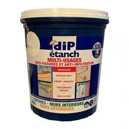 Dip Multi Usages Anti Fissures Et Anti Infiltration Blanc Avec Images Peinture Toiture Peinture Facade Peinture Mur Et Plafond