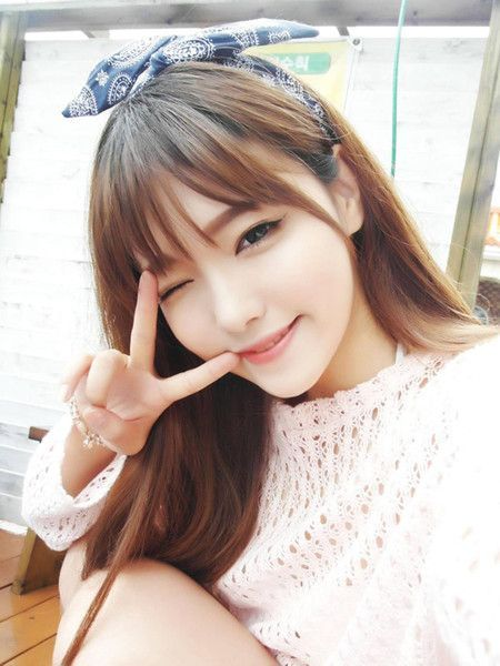 Image Result For Thin Bangs Korean Hairstyles With Bangs Thin Bangs Long Hair Styles