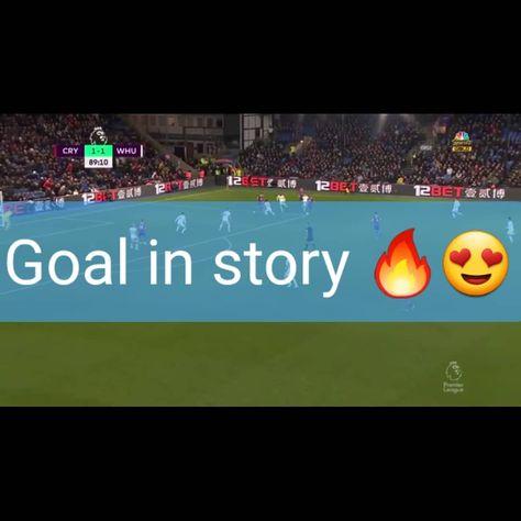 Gooooal for crystal PALACE  Vidéo goal in story Instagram . . . . . . #cpfc #premierleague #fantasy #goals #followforfollowback #instagram #vidéo #Pl
