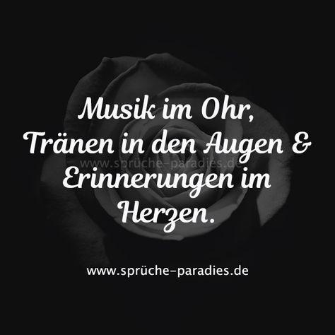 Musik im Ohr, Tränen in den Augen & Erinnerungen im Herzen.