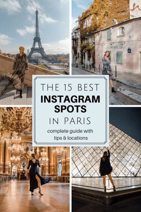 The Best Paris Instagram Spots | 15 Parisian Shots You Can't Miss: Paris Photography Dana Berez. I have rounded up the best 15 Paris Instagram Spots that you can't miss while in Paris. I have included famous spots, as well as some hidden photo spots you may have not known about! Here are the best Paris Photo Spots.Paris photography. Paris Photo Spots. Instagram Spots of Paris