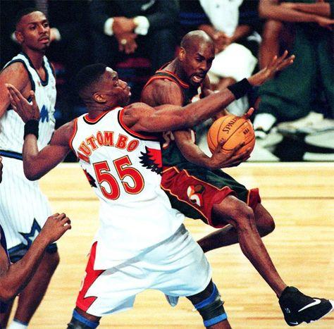 1998 Nike Air Son of Glove Gary Payton Shoes