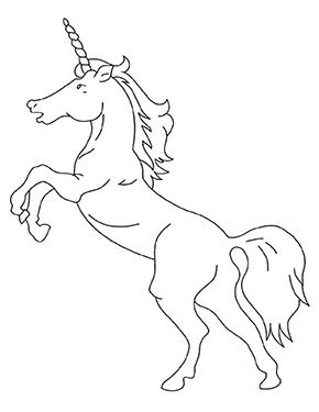 Ausmalbild Springendes Einhorn Zum Kostenlosen Ausdrucken Und Ausmalen Fur Kinder Ausmalbil Unicorn Coloring Pages Unicorn Printables Cartoon Coloring Pages