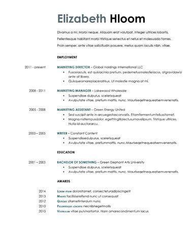 Resume Examples Google Docs Examples Google Resume Resumeexamples Resume Template Free Resume Templates Best Resume Template