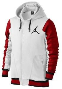 Jordan The Varsity Hoodie - Men's - White / Red
