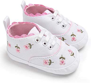 Baby Mädchen Neugeborenen Weiche Krippe Schuhe Rutschfester Sneaker Prewalker