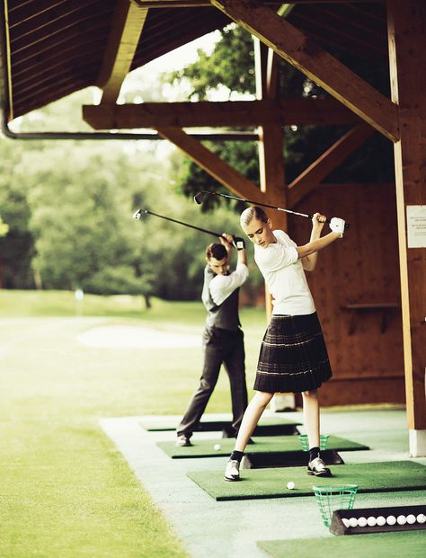 A golf break at the beautiful Evian Resort in Evian-les-Bains, France: backdrop for Madame Figaro's Sept feature 'Golf, tee for two'.