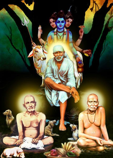 Image result for sai gajanan maharaj swami samarth photo | Swami ...