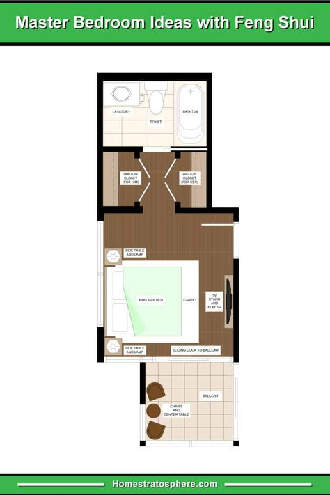 How To Feng Shui Your Bedroom 25 Rules With 17 Layout Diagram Examples In 2020 Bedroom Layouts Master Bedroom Layout Hotel Bedroom Design