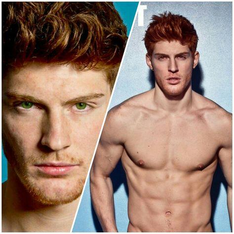 Ken Bek With Green Eyes Hot Ginger Men Red Hair Men Redhead Men