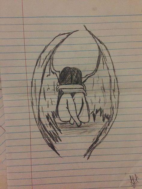 Crying angle #drawingsideasSad