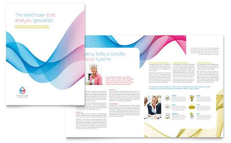 Human Resource Management Brochure Template by StockLayouts - microsoft word pamphlet template