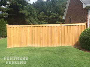 Fw7 Board On Board Deluxe Wood Fence Wooden Fence Fence
