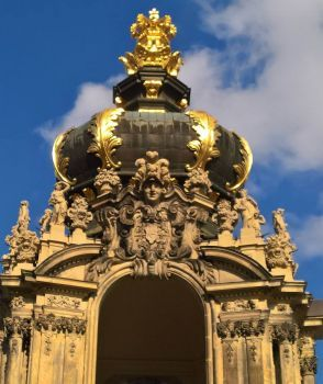 Kronentor Zwinger Dresden Germany Dresden Germany Germany German Architecture