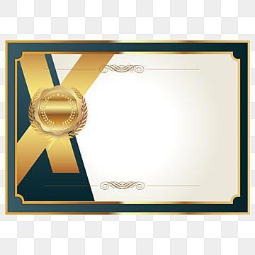 Golden Texture Certificate Authorization Book Poster Background Material Golden Texture Certificate Layout Certificate Background