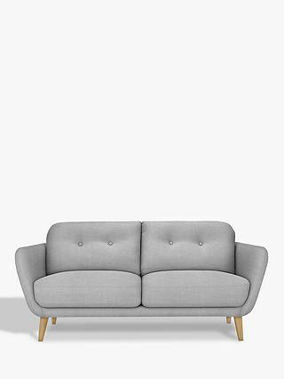 Buyhouse By John Lewis Arlo Medium 2 Seater Sofa Light Leg Dylan Charcoal Online At Johnlewis Com 2 Seater Sofa Seater Sofa Sofa