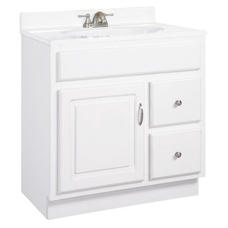 Design House 541037 Concord Unassembled 1 Door And 2 Drawer Vanity