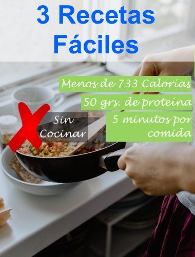 recetas faciles en 5 minutos
