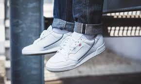 Adidas Originals Continental 80 Herren Sneaker (hellblau)